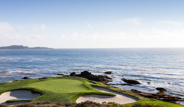 Pebble Beach at California