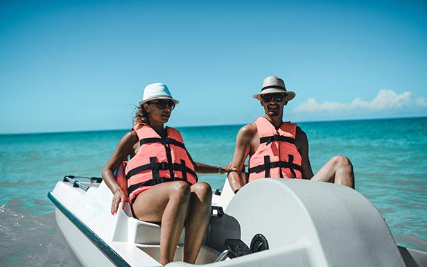 Lake El Estero Paddle Boats